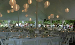Tent Rentals with Lighting